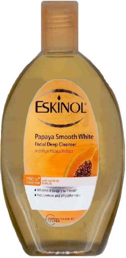 ESKINOL PAPAYA SMOOTH WHITE FACIAL CLEANSER