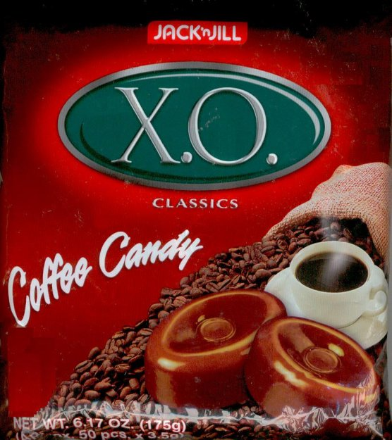 JACK'N JILL X.O. COFFEE CANDY