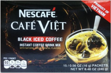 NESCAFE CAFE VIET BLACK ICED COFFEE